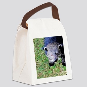Hi There Canvas Lunch Bag