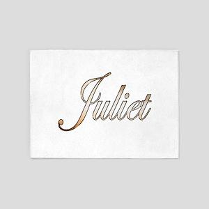 Gold Juliet 5'x7'Area Rug