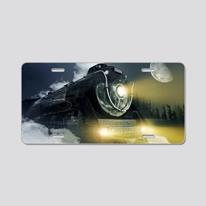 RailroadTrain  Aluminum License Plate