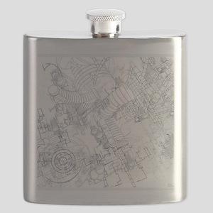 Blue Print Flask