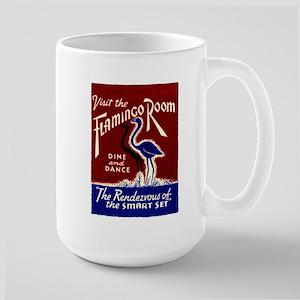 FLAMINGO ROOM Large Mug