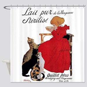 Steinlen Cats Shower Curtain