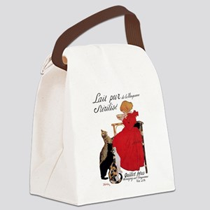Steinlen Cats Canvas Lunch Bag