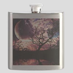 Dark Lunar Dreams Flask
