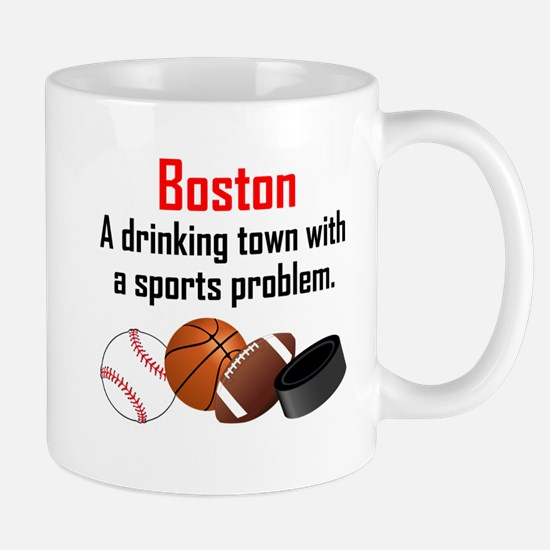 Boston A Drinking Town With A Sports Problem Mugs