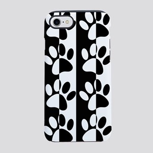 Black And White Dog Paws And S iPhone 7 Tough Case