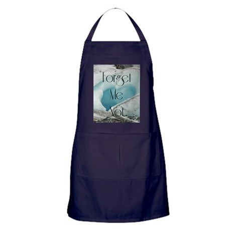 Forget Me Not Apron (dark)