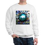 Magic Blue Marble Sweatshirt