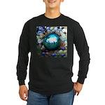 Magic Blue Marble Long Sleeve T-Shirt