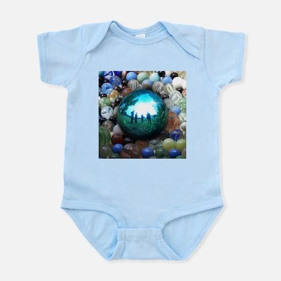 Magic Blue Marble Body Suit