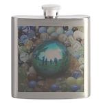 Magic Blue Marble Flask