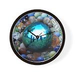 Magic Blue Marble Wall Clock