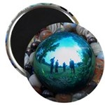 Magic Blue Marble Magnets