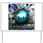Magic Blue Marble Yard Sign