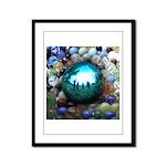 Magic Blue Marble Framed Panel Print