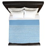 Riverside Placid Blue King Duvet