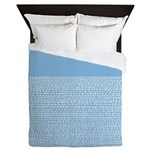Riverside Placid Blue Queen Duvet
