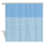 Riverside Placid Blue Shower Curtain