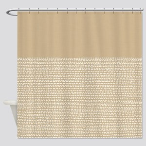 Riverside Sand Shower Curtain