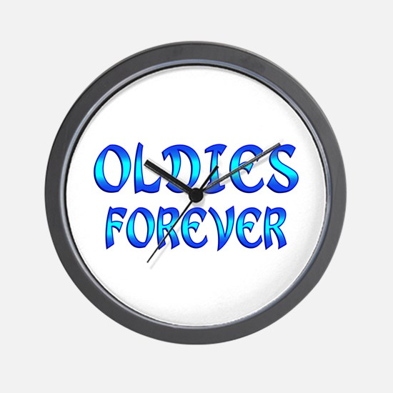 Oldies Forever Wall Clock