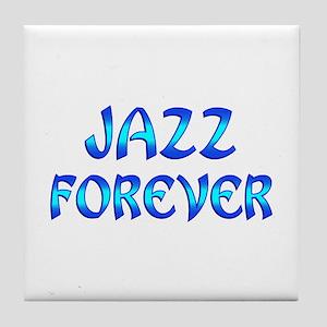 Jazz Forever Tile Coaster