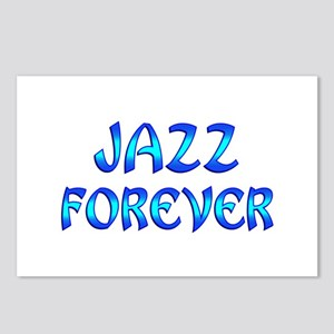 Jazz Forever Postcards (Package of 8)
