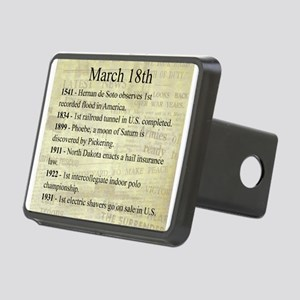 March 18th Hitch Cover