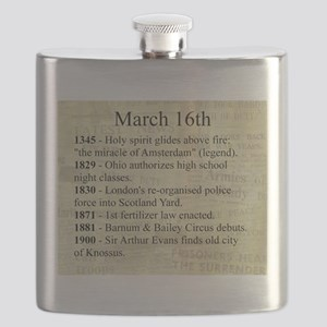 March 16th Flask