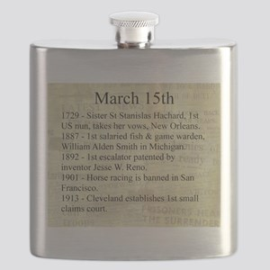 March 15th Flask