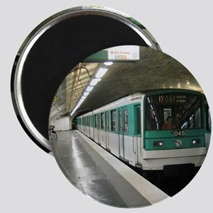 Hop On The Metro Magnet