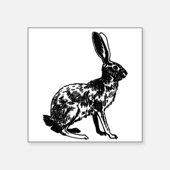 Jackrabbit (illustration) Sticker