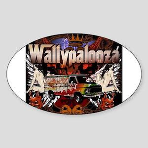 Wallypalooza classic Sticker