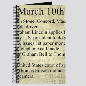 March 10th Journal