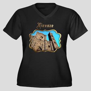 Santa Maria del Fiore Plus Size T-Shirt