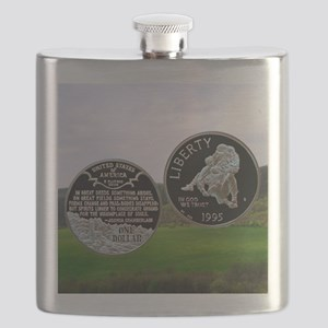 1995 Civil War Dollar Flask