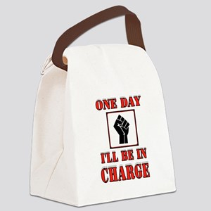 PROTESTER Canvas Lunch Bag