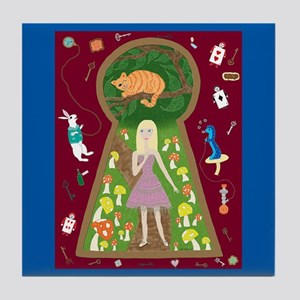 Alice (FairyTale Fashion #4) Tile Coaster