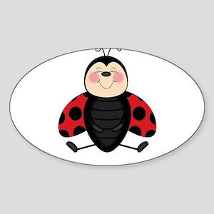Smitten Ladybug Sticker