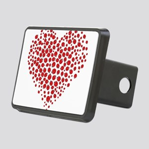 Heart of Ladybugs Hitch Cover