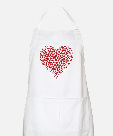 Heart of Ladybugs Apron