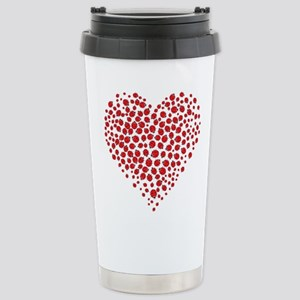 Heart of Ladybugs Travel Mug