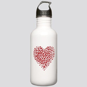 Heart of Ladybugs Water Bottle
