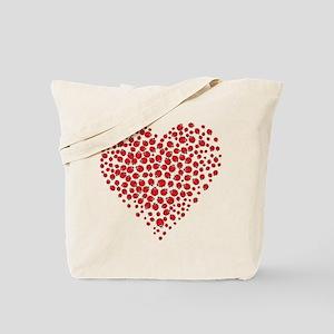 Heart of Ladybugs Tote Bag