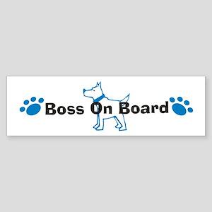 Boss On Board 999 Bumper Sticker