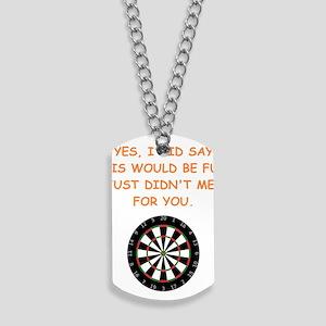 darts Dog Tags
