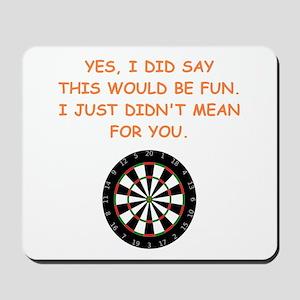 darts Mousepad