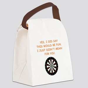 darts Canvas Lunch Bag