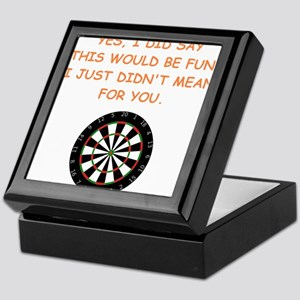 darts Keepsake Box