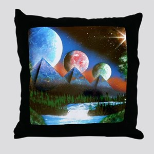 Synchroncity 2 Throw Pillow