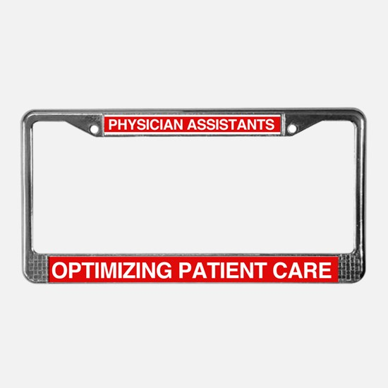 Cute Assistants License Plate Frame